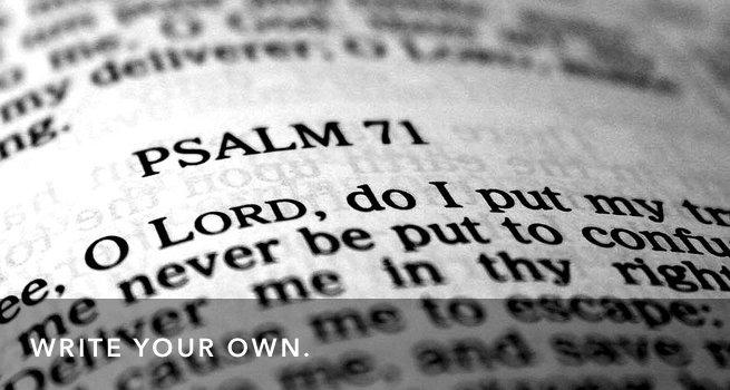 FI Write A Psalm