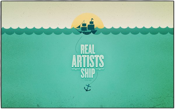 Quote - Real Artist Ship