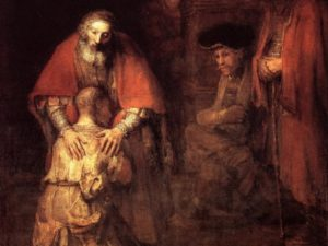 """The Prodigal Son"" by Rembrandt van Rijn"