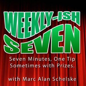 Weekly-ish Seven Podcast Logo