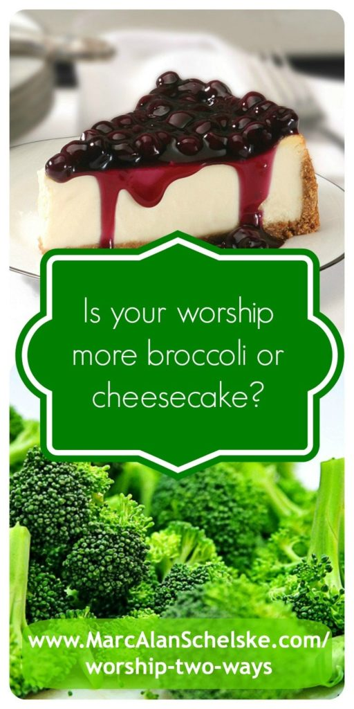 You need a regular diet of broccoli in order to be able to handle cheesecake!   Word Art by Marc Alan Schelske.  Photo Credit:  Unknown
