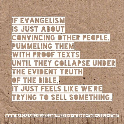 Quote - Evangelism Selling